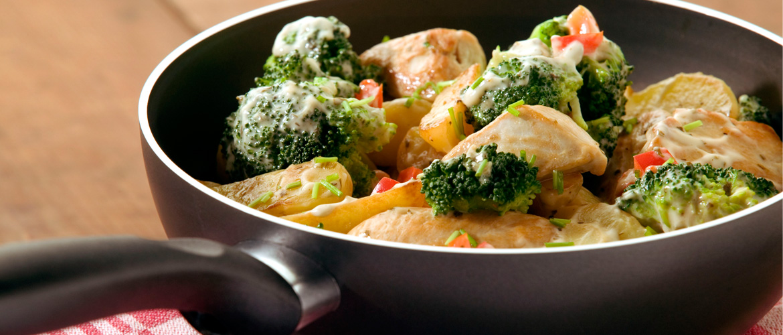 Aardappel Anders - Broccoli kip roerbakgerecht
